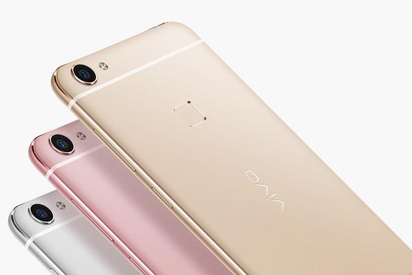 Vivo X6 và Vivo X6 Plus ra mắt với 3 phiên bản màu sắc: bạc, vàng và vàng hồng