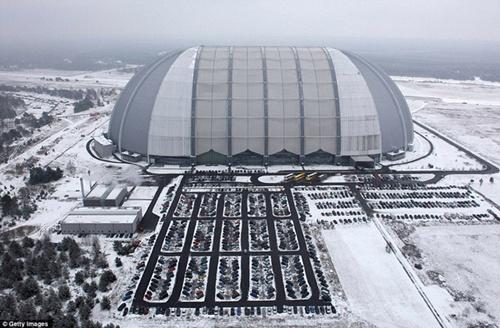 Vào mùa đông, khi tuyết trắng bao phủ, nhiệt độ bên trong luôn giữ ở mức 25 độ C.