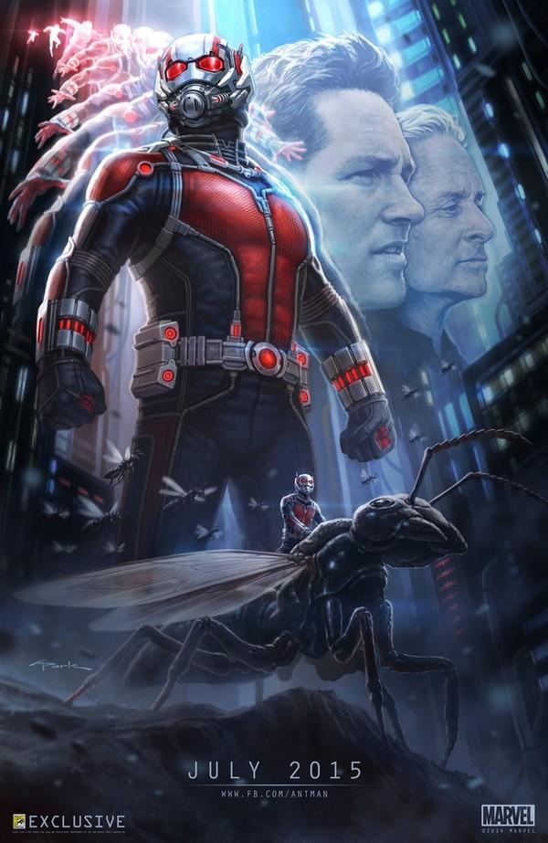 Ant-Man sẽ được chiếu tại các rạp ngày 17/7/2015