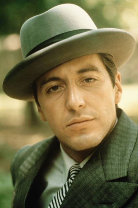 Al Pacino trong Bố già, bộ phim đã khiến ông trở nên nổi tiếng.