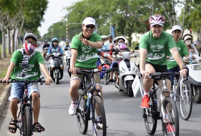 1.000 người đạp hưởng ứng Ngày môi trường Thế giới