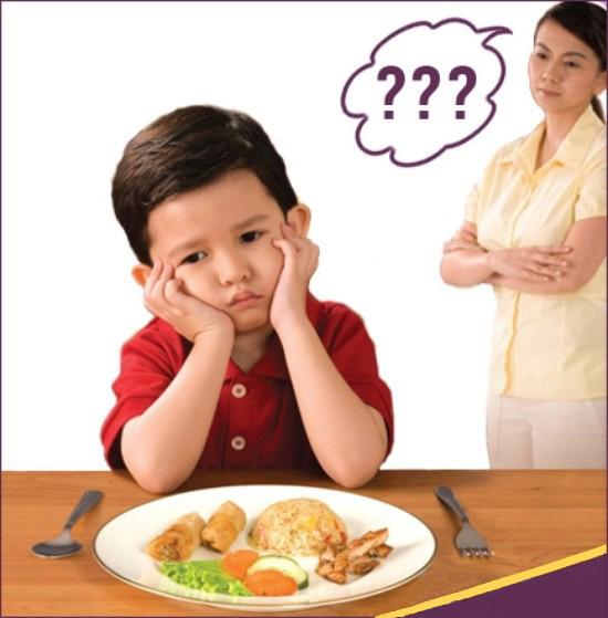 Trẻ biếng ăn có thể sẽ bị c