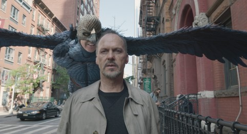 Cảnh trong Birdman, tác phẩm điện ảnh đoạt giải Oscar Phim hay nhất năm nay.