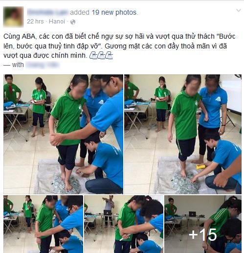Hình ảnh được cư dân mạng chia sẻ với tốc độ chóng mặt từ tài khoản của cô giáo trường THCS ở Hà Nội