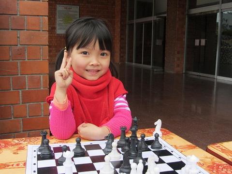 Cẩm Hiền là tài năng mới nổi của cờ vua Việt Nam.