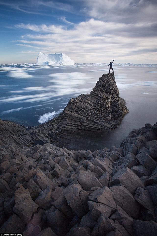 """Khoảnh khắc của nhiếp ảnh gia ở nơi """"tận cùng thế giới"""""""