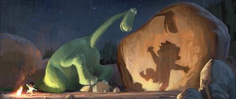 The Good Dinosaur là phim hoạt hình 3D thứ 2 được Pixar tung ra trong năm nay.