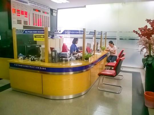 Phòng giao dịch của VNCB vẫn hoạt động bình thường