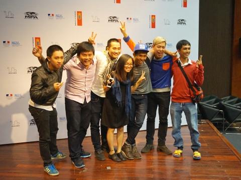 Những nhà làm phim trẻ có dự án được Hà Nội Mùa Xuân 2015 chọn.