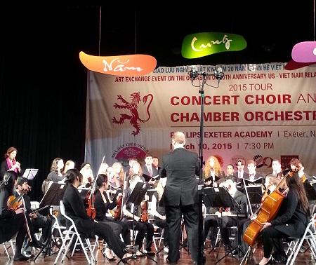 Sinh viên nhạc viện Mỹ hát Chèo: Đường trường duyên phận