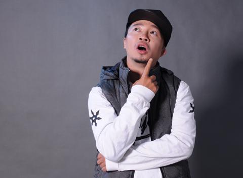 Rapper Hà Lê.