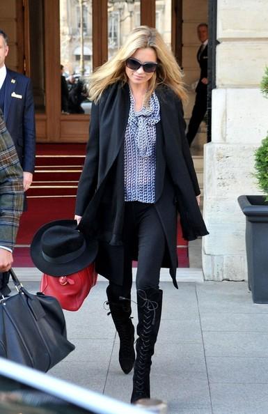 Kate Moss - siêu mẫu kiêm biểu tượng thời trang của Anh!