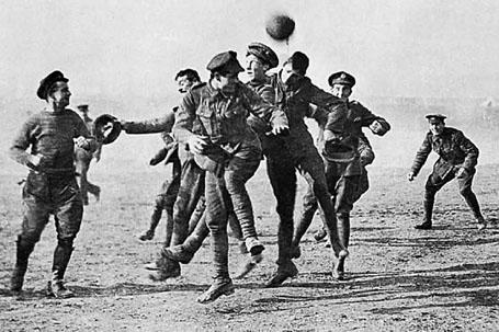 Trận bóng nổi tiếng ở thế chiến thứ I