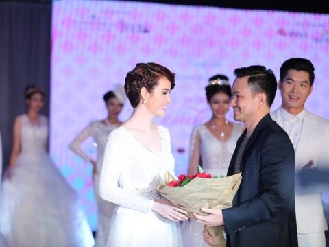 """Mai Thu Huyền và Chi Bảo trong cảnh phim """"Lạc giới""""."""