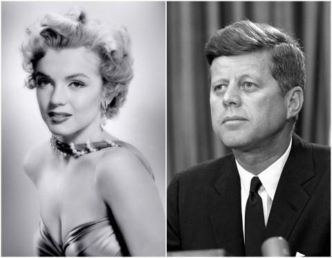 Marilyn Monroe và John F. Kennedy – mối tình nổi tiếng và tai tiếng.
