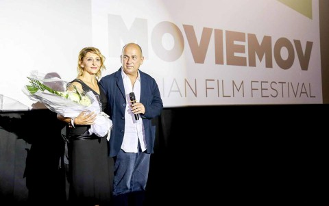 Người Italy bắt đầu để ý đến thị trường điện ảnh Việt Nam. Lần đầu tiên có một Festival phim Italy tại Việt Nam, mang tên Moviemov. Trong ảnh là đạo diễn và diễn viên Italy đến giao lưu với khán giả Hà Nội.