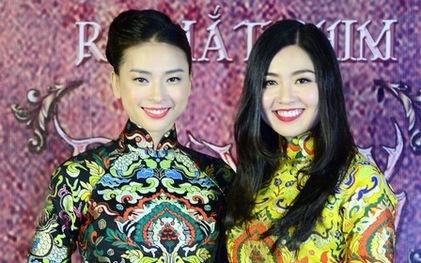 """Lê Khánh (phải) và bạn diễn Ngô Thanh Vân trong phim """"Ngày nảy ngày nay""""."""