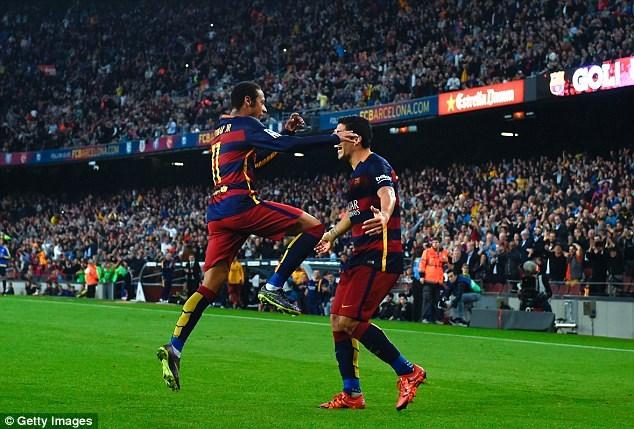 Neymar sẽ là mũi nhọn trên hàng công của Barcelona