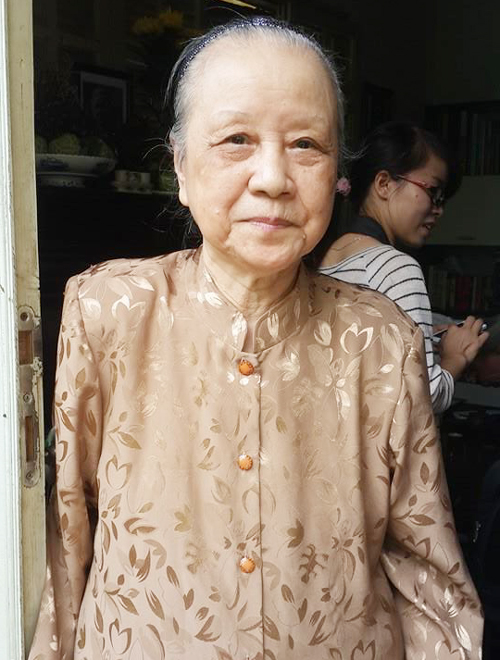 Bà Nghiêm Thúy Băng ở tuổi 87