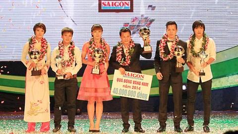 Các cầu thủ giành các giải thưởng trong năm 2014