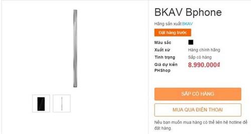 Ro tin don ve cau hinh va gia ban chiec smartphone BKAV-Hinh-2