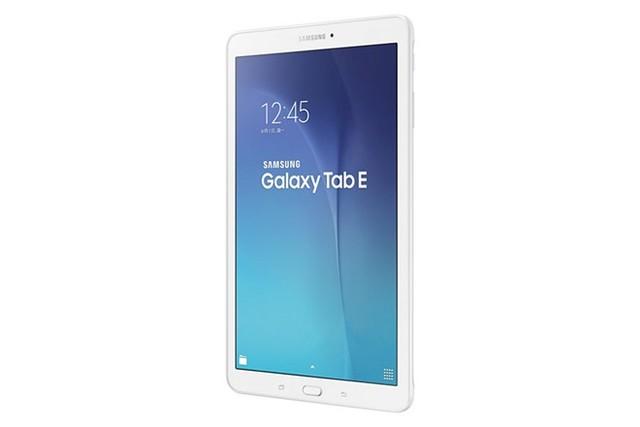 Samsung Galaxy Tab E sở hữu màn hình 9,6 inch