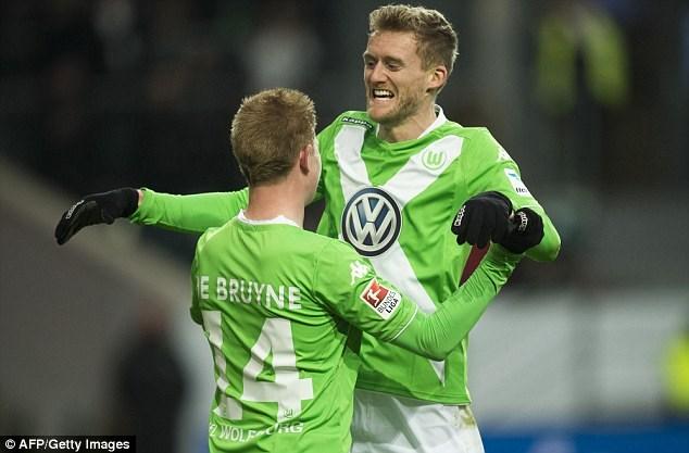 Schurrle đang dần tìm lại phong độ trong màu áo Wolfsburg