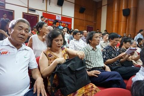 9 buổi chiếu tại LHP Tài liệu Việt Nam - châu Âu lần 7 đều đông kín khán giả.