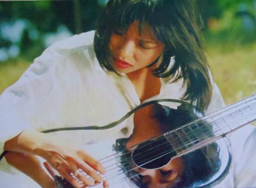 Hình ảnh ca sĩ Phương Thanh thời xưa.