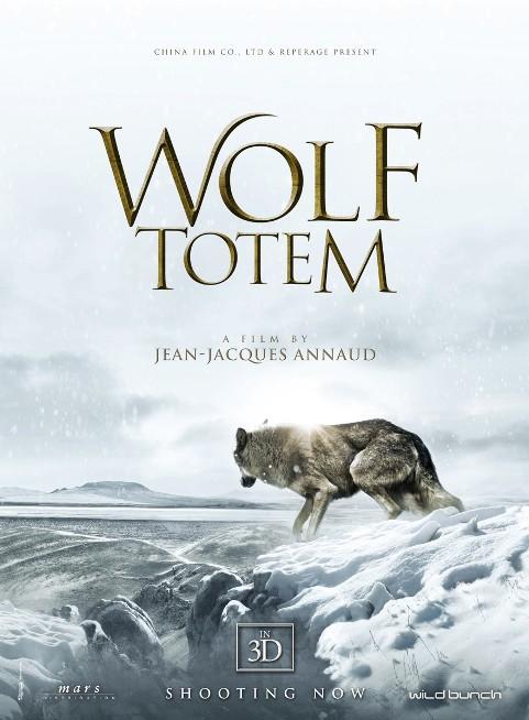"""Cuốn tiểu thuyết """"Totem Sói"""" được dựng thành phim."""
