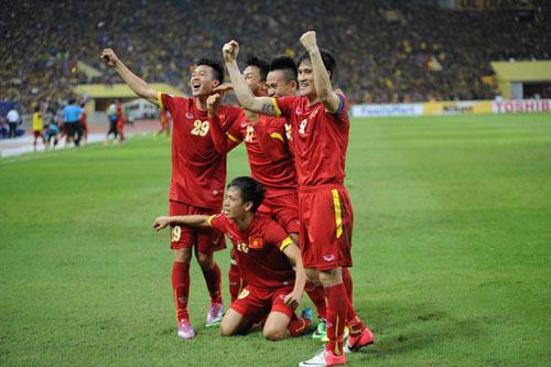 ĐTVN đã được nhận tiền thưởng nhờ thành tích vào bán kết ở AFF Cup