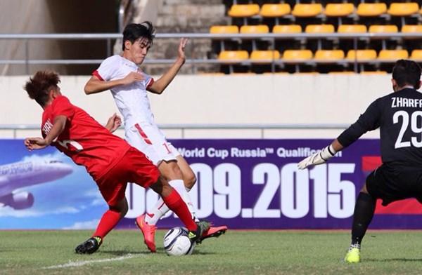 U19 Việt Nam (áo trắng) sẽ tìm kiếm thêm chiến thắng