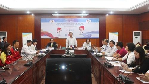 Quang cảnh buổi họp báo sáng 24-11