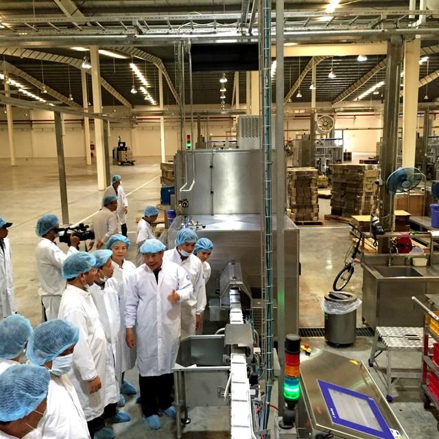 Vinamilk đầu tư xây dựng nhà máy chế biến sữa trên địa bàn tỉnh Lâm Đồng (Ảnh: Trí Thức Trẻ)