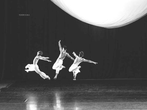 Cảnh trong vở múa đương đại Vọng phu biển. Ảnh: Nguyễn Quân Đạt.
