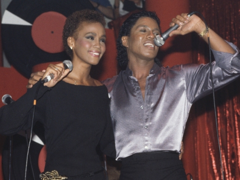 Whitney Houston và Jermaine Jackson thời mặn nồng.