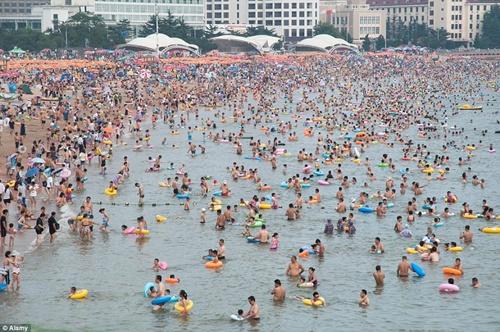Thành phố Thanh Đảo thuộc tỉnh Sơn Đông, Trung Quốc trong những năm đầu phát triển.