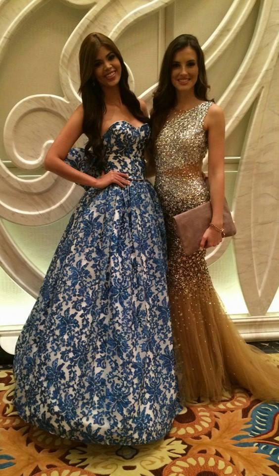 Trước đó, một số thí sinh từng nhận được vô số gạch đá khi lựa chọn những bộ váy kém sắc trong phần thi Trang phục dạ hội