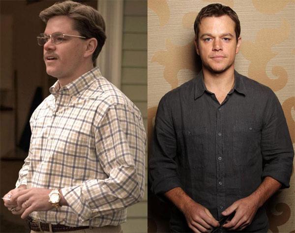 Người đàn ông quyến rũ nhất hành tinh Matt Damon phải nỗ lực để có thể tăng hơn 13kg để đảm nhiệm vai diễn trong The Informant.