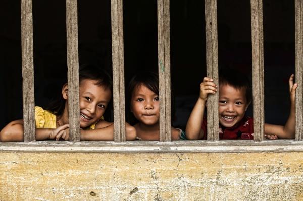 Trẻ em ở Hoàng Su Phì