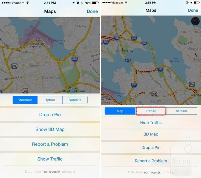 Tính năng mới trên Apple Maps