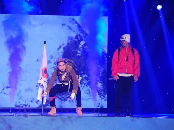 Team PB Nation của Hoàng Tôn và Phúc Bồ thể hiện ca khúc Vượt qua. Lưu Thiên Hương thích tiết mục này ở nét duyên trên sân khấu của hai ca sĩ, không cần nhóm nhảy vẫn tạo ra không khí sôi nổi.