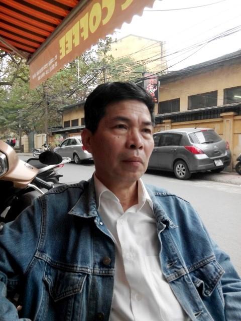 Nhà viết kịch Lê Quý Hiền.