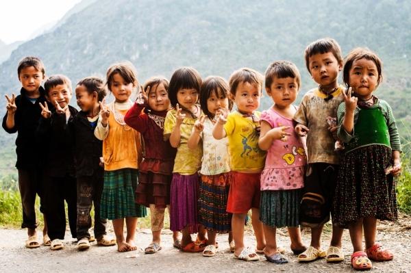 Trẻ em Đồng Văn