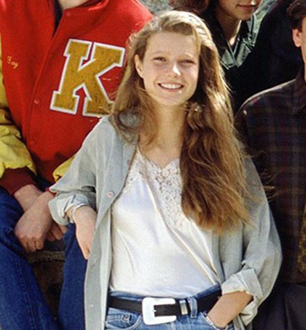 Gwyneth Paltrow lại từng là một thiếu nữ vô cùng nổi bật và luôn thu hút mọi ánh nhìn.