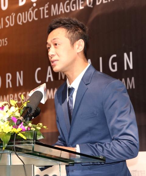 MC Anh Tuấn góp tiếng nói trong buổi họp báo