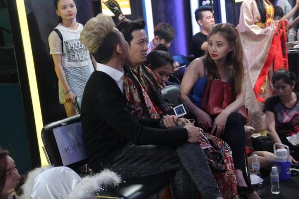 Nghệ sĩ Lê Giang cũng có mặt ở hậu trường