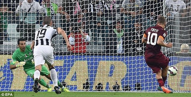 Totti có đủ sức giúp AS Roma đánh bại Juventus?