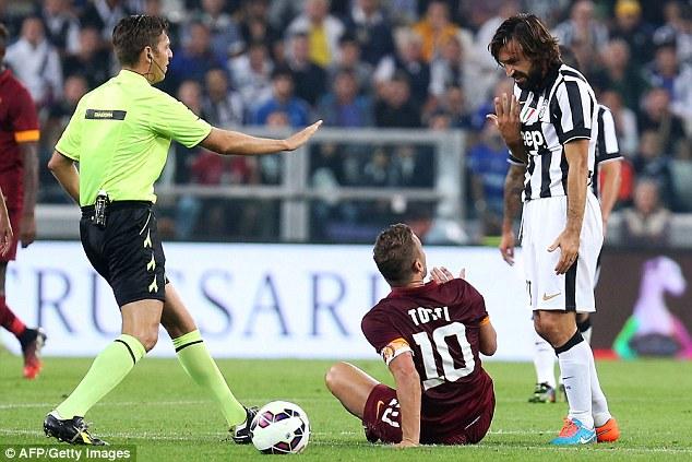 Juventus sẽ không có được sự phục vụ của Andrea Pirlo
