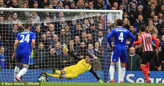Southampton thậm chí đã có những phút giây lấn lướt đội chủ nhà.